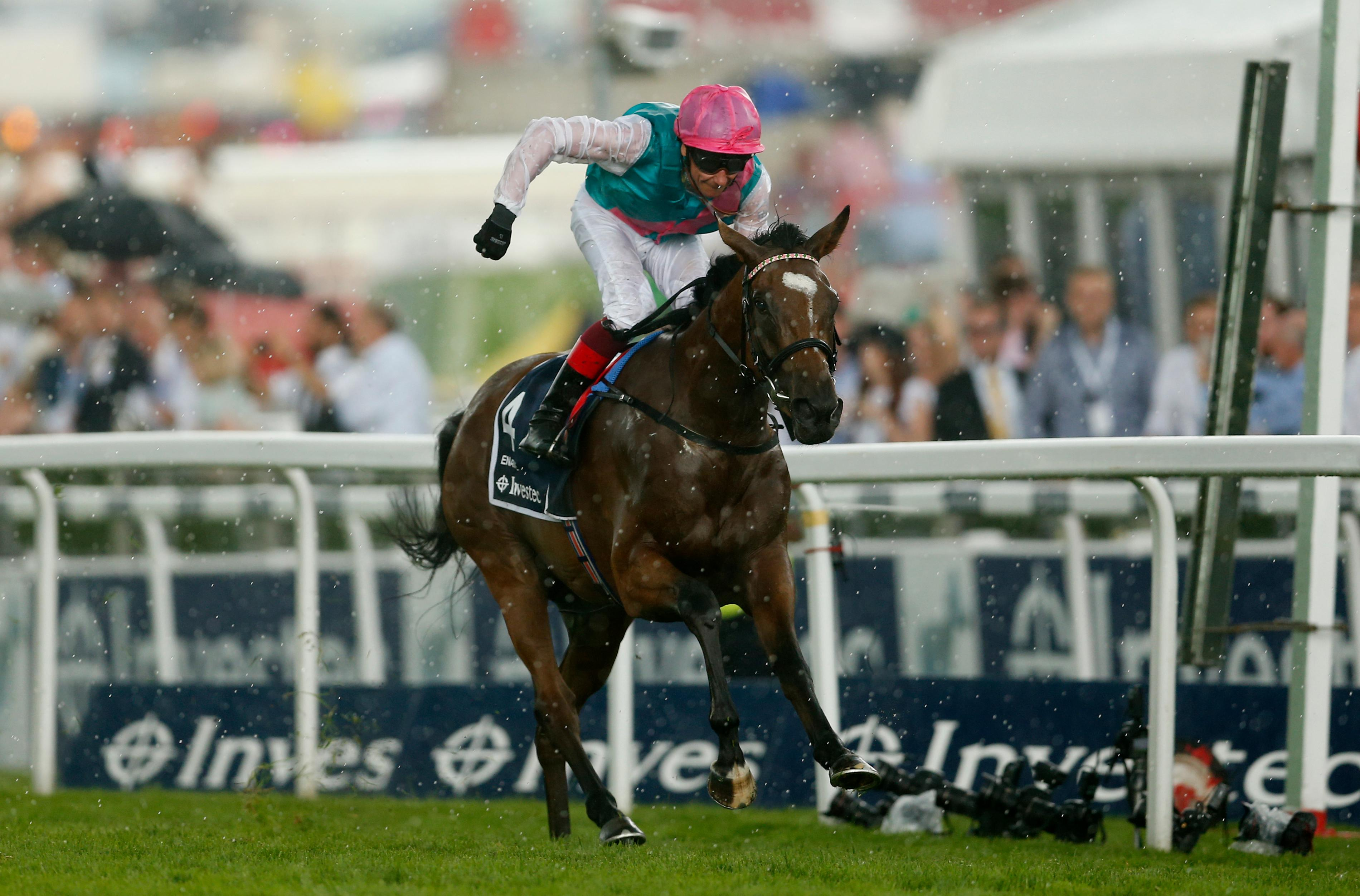 Dettori Eyes History With Enable