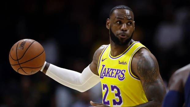 LeBron James Expects Lakers Improvement