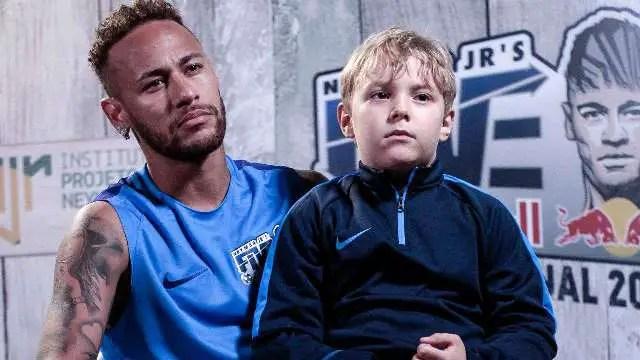 Neymar Admits His Son Is Bigger Mbappe Fan