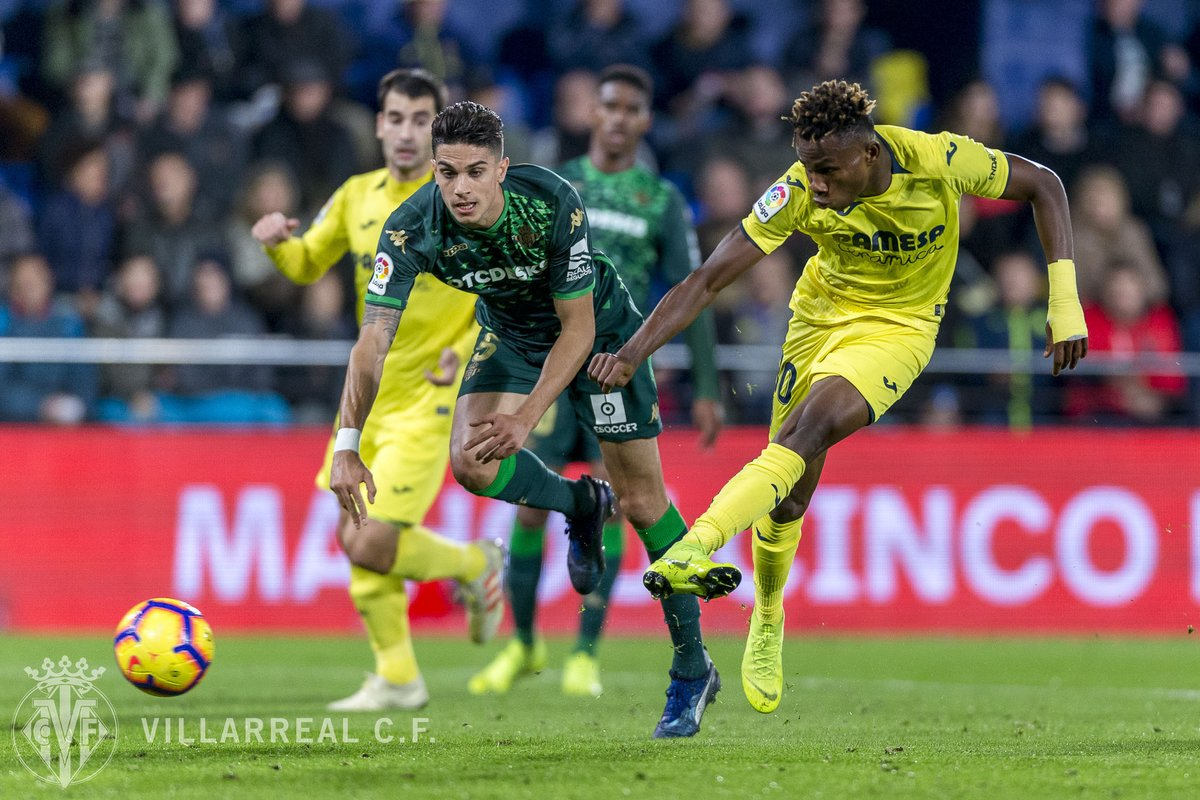 Agent: Chukwueze Attracting Interest From EPL Teams