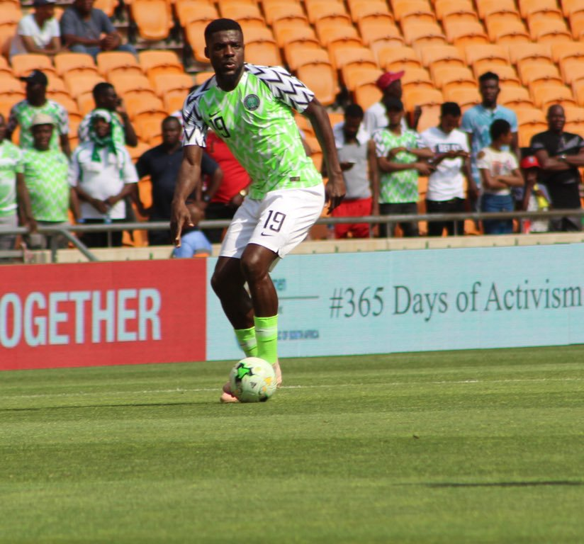 Ogu 'Super Happy' With Nigeria's 2019 AFCON Qualification