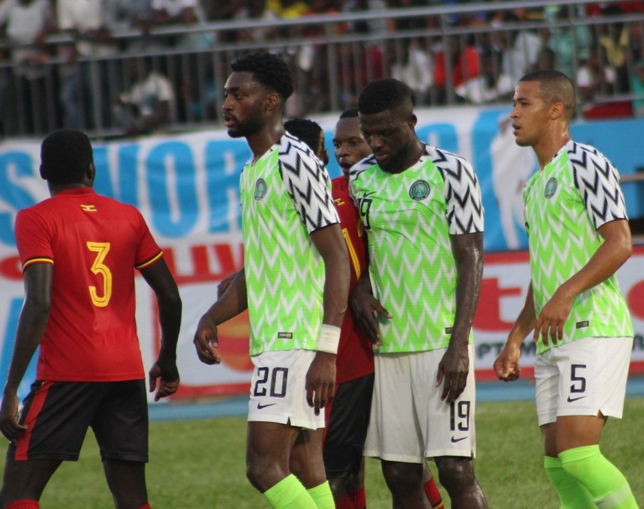 IMPRESSIVE:  Super Eagles Rating Player-By-Player Vs Uganda