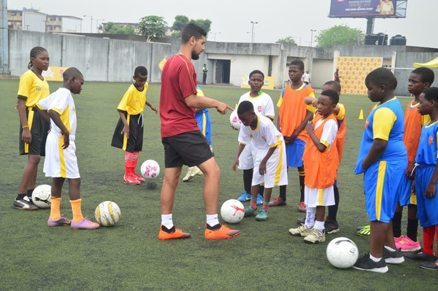 MTN/Arsenal Host Coaching Clinic In Lagos