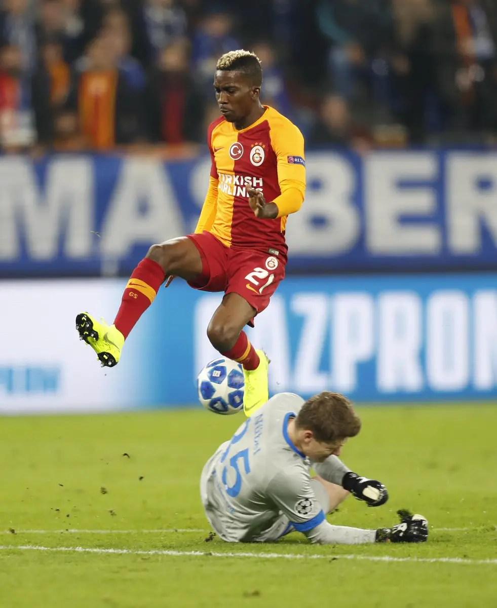 UCL: Onyekuru, Idowu Fail To Rescue Galatasaray, Locomotiv From Defeat; Awaziem Not Listed