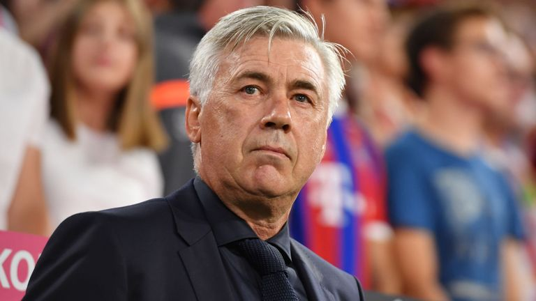UCL: Ancelotti Happy With Napoli Lead In Group C