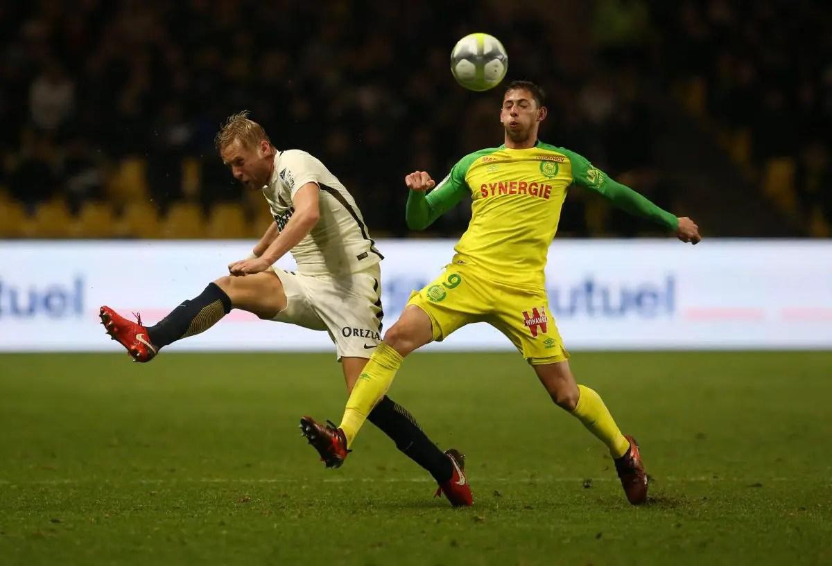 Eagles Keep Tabs On Nantes Ace