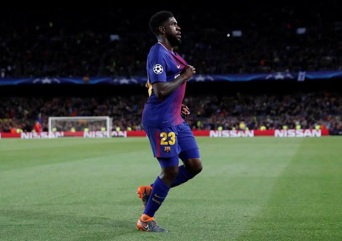 Umtiti Injury Worry For Barca