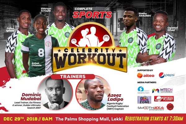 Complete Sports Launch New Web Domain With Celebrity Workout