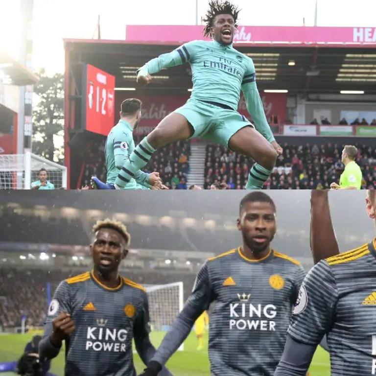 Iwobi Seeks 1st EPL Goal In 13 Games Vs Huddersfield; Iheanacho Eyes 9th Start, Ndidi 15th