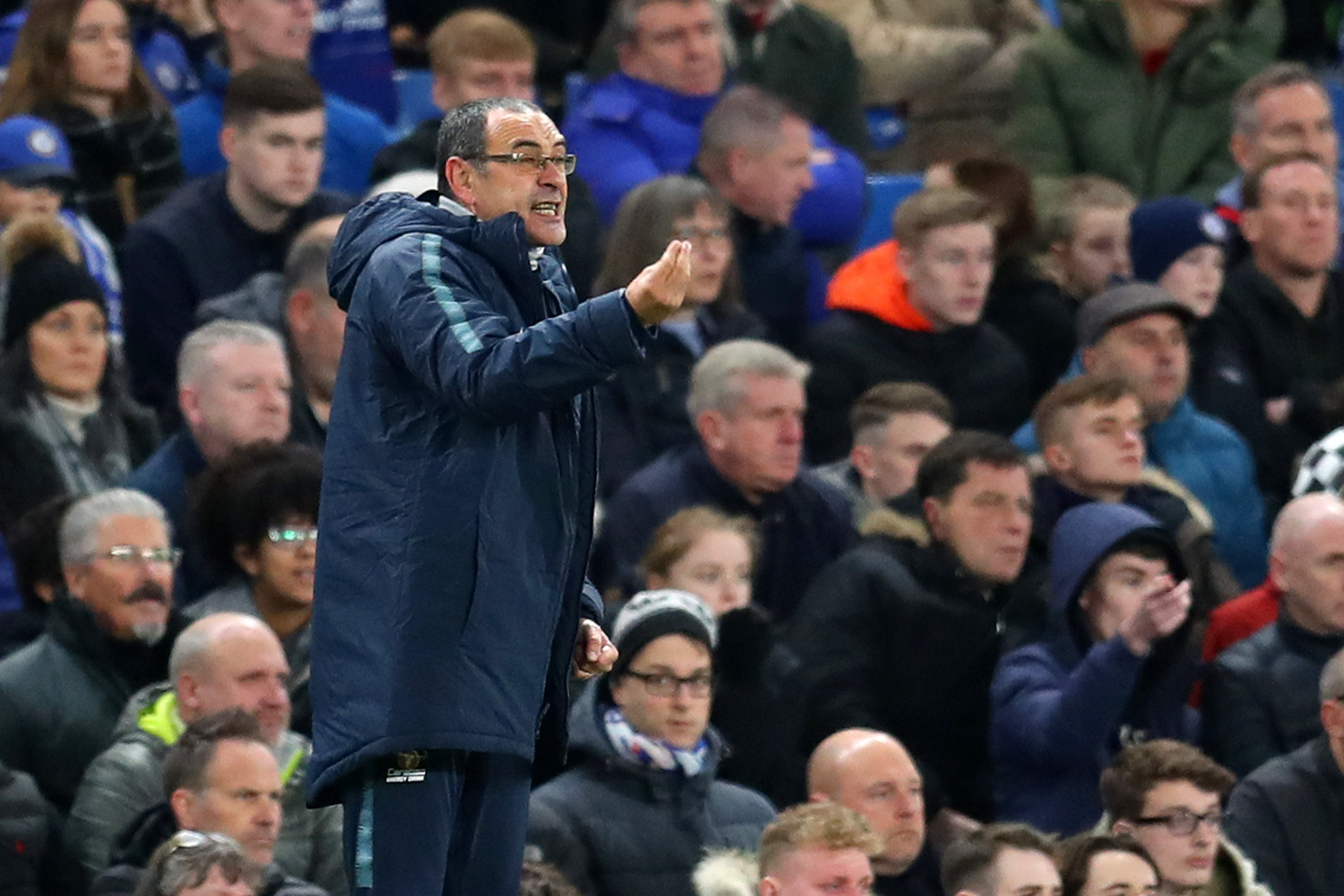 Sarri Stunned By Chelsea's Display Against Leicester