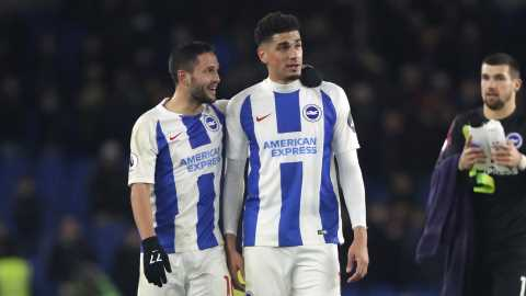 Balogun Wants Some More  After Historic Feats For Brighton Against Palace