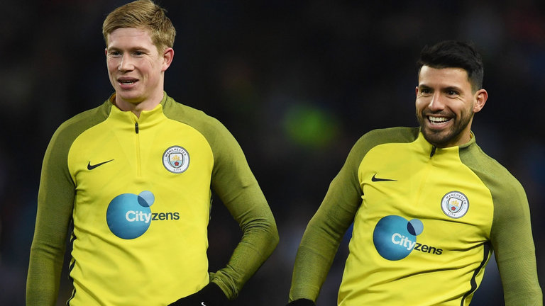 Aguero And De Bruyne In Line For Cup Run Out