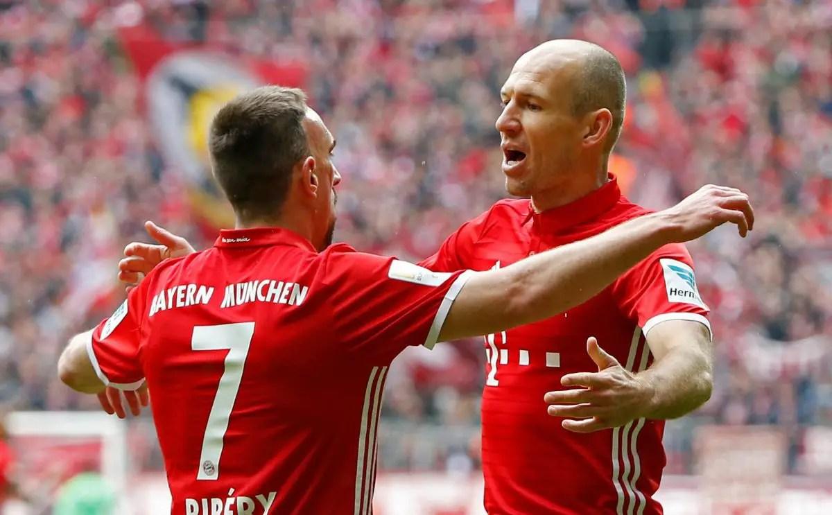 Bayern Confirm Ribery Exit