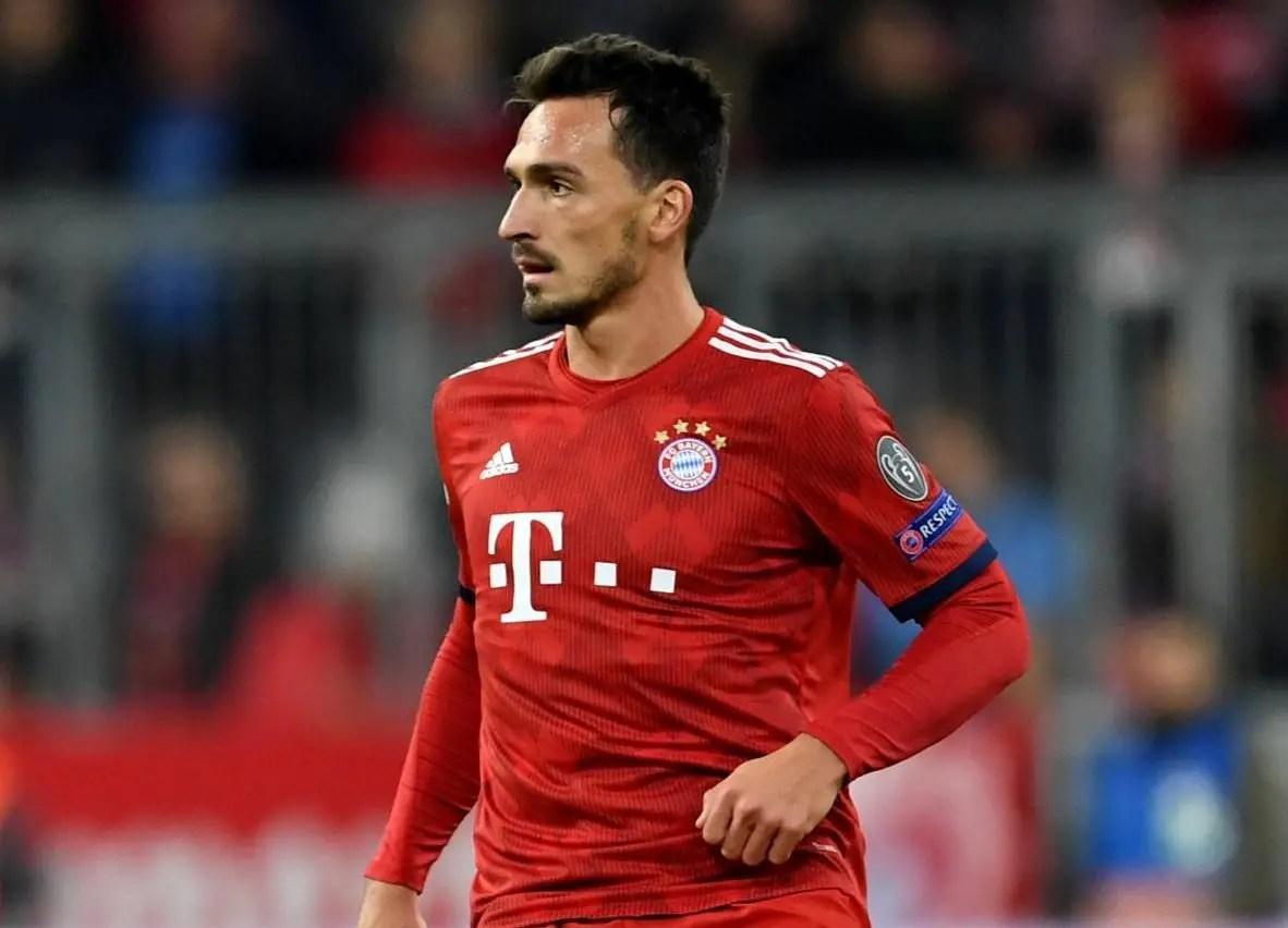Bayern Rule Out Hummels Sale