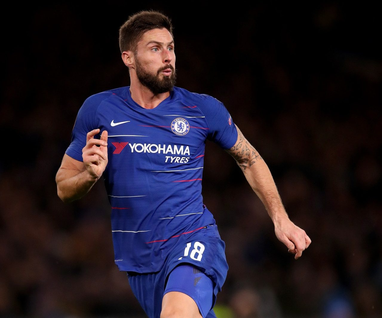 Giroud Joins Chelsea's Injury List
