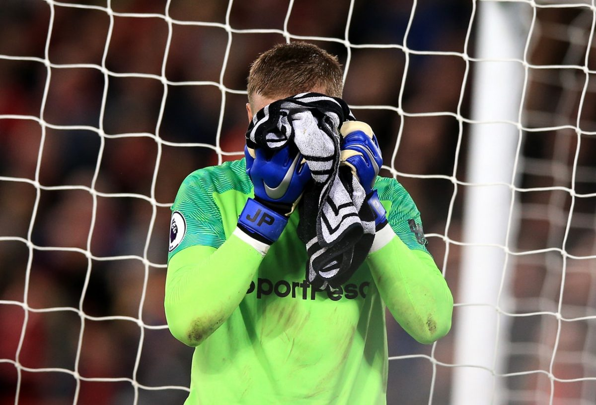 Pickford Apologises For Blunder