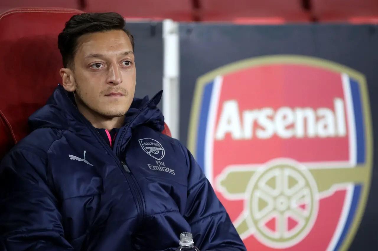 Selling Ozil Crosses Mind Of Arsenal Boss