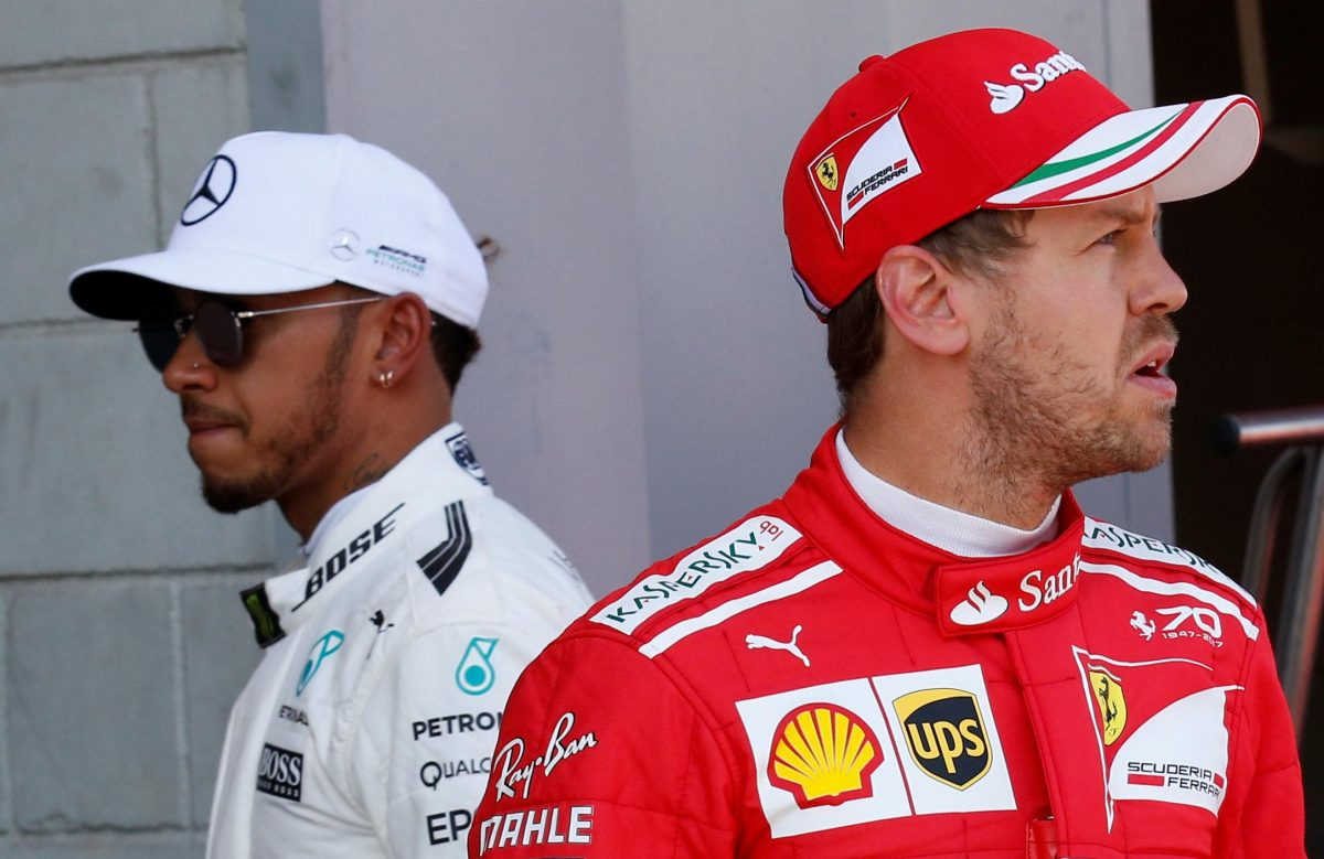 Vettel Still The Main Threat For Hamilton