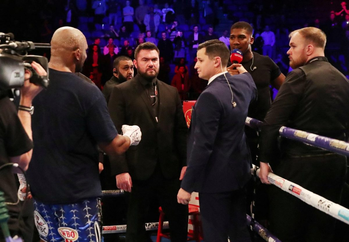 Whyte Eyes AJ Rematch