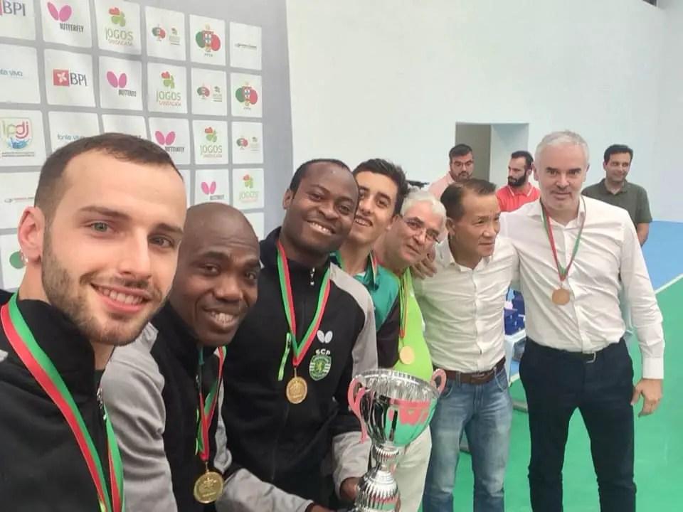 Table Tennis: Quadri, Abiodun Retain Portuguese Cup With Sporting