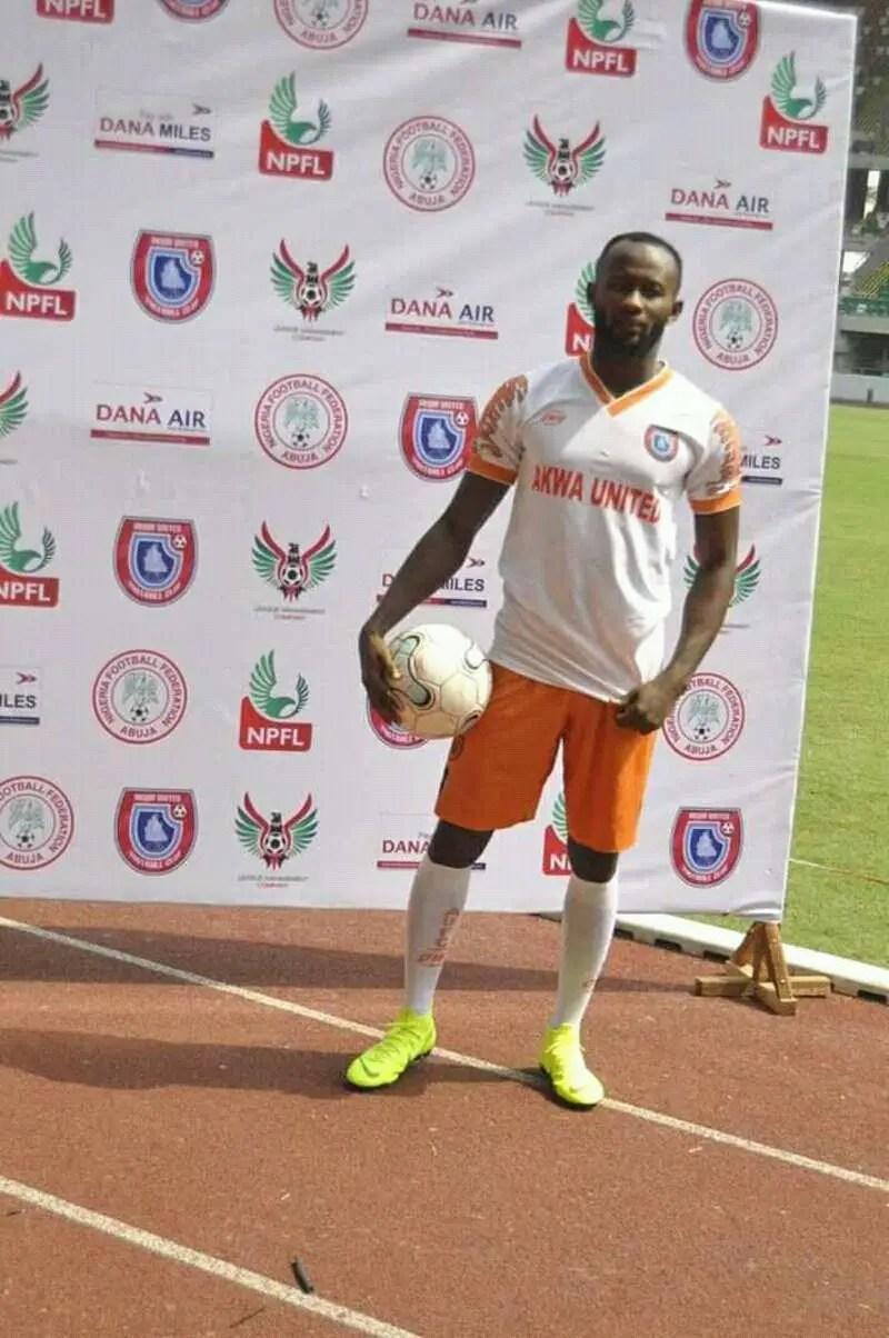 Mfon Udoh Sets 20-Goal New Season Target At Akwa United