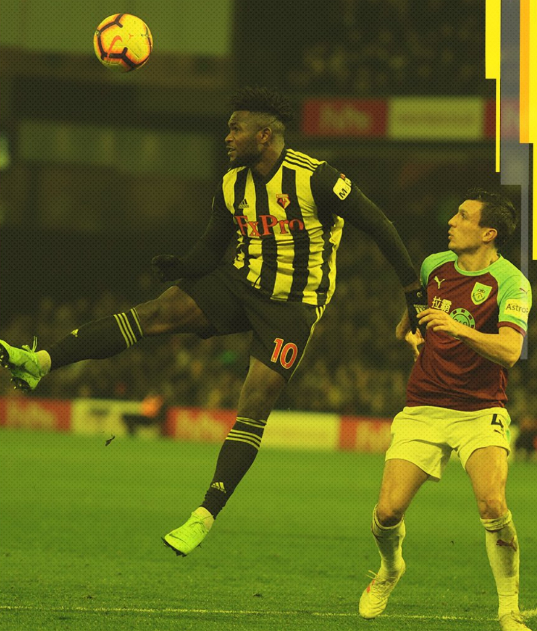 EPL: Success Plays 14th Sub Role  In Watford Draw, Balogun Benched; Another 7-Goal Thriller As Liverpool Edge Palace