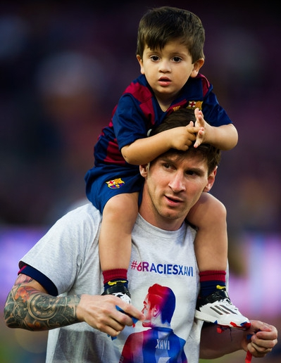 Messi: My Son Thiago Criticises Me Often, Talks About Everything Football
