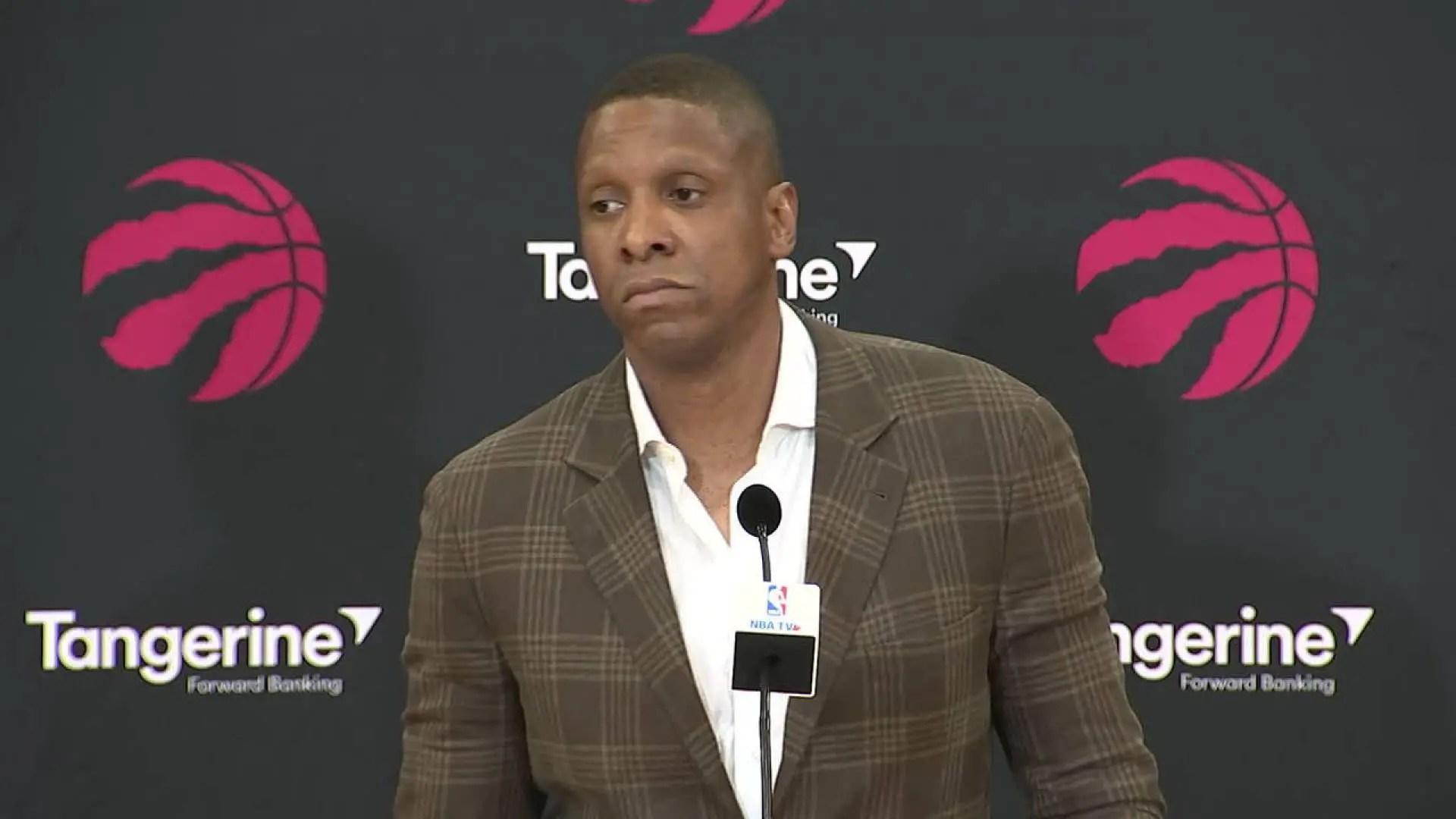 Ujiri Touts NBA Success With Raptors