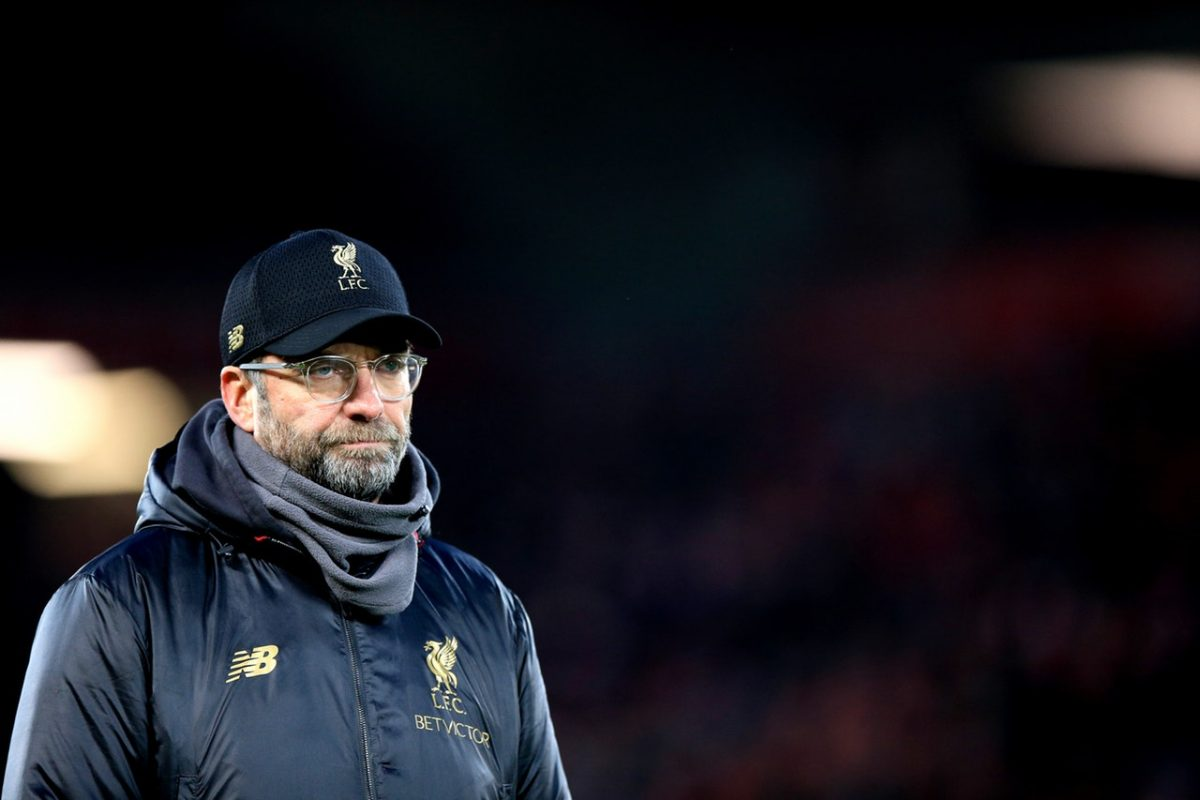 Klopp Rules Out Defender Swoop