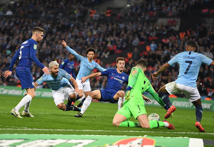 Man City Beat Chelsea 4-3 On Penalties To Lift Carabao Cup