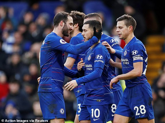 Hazard: Win Over Huddersfield Will Boost Chelsea's Confidence For Man City Clash