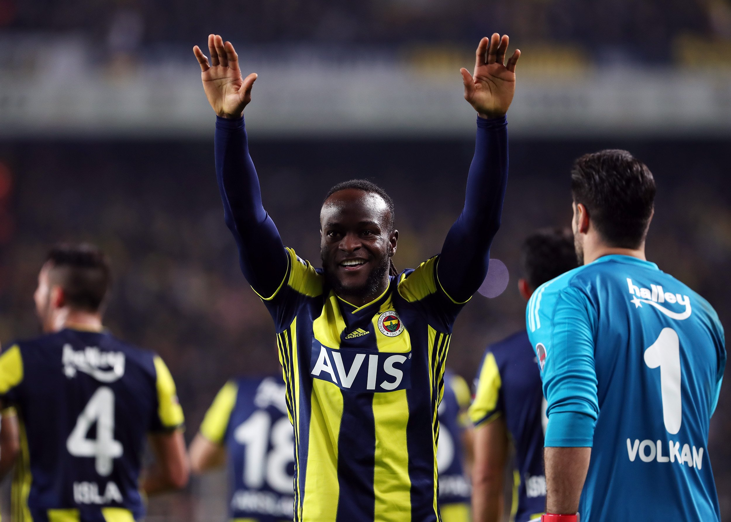 Moses Scores First Fenerbahce Goal In 2-0 Win Vs Goztepe