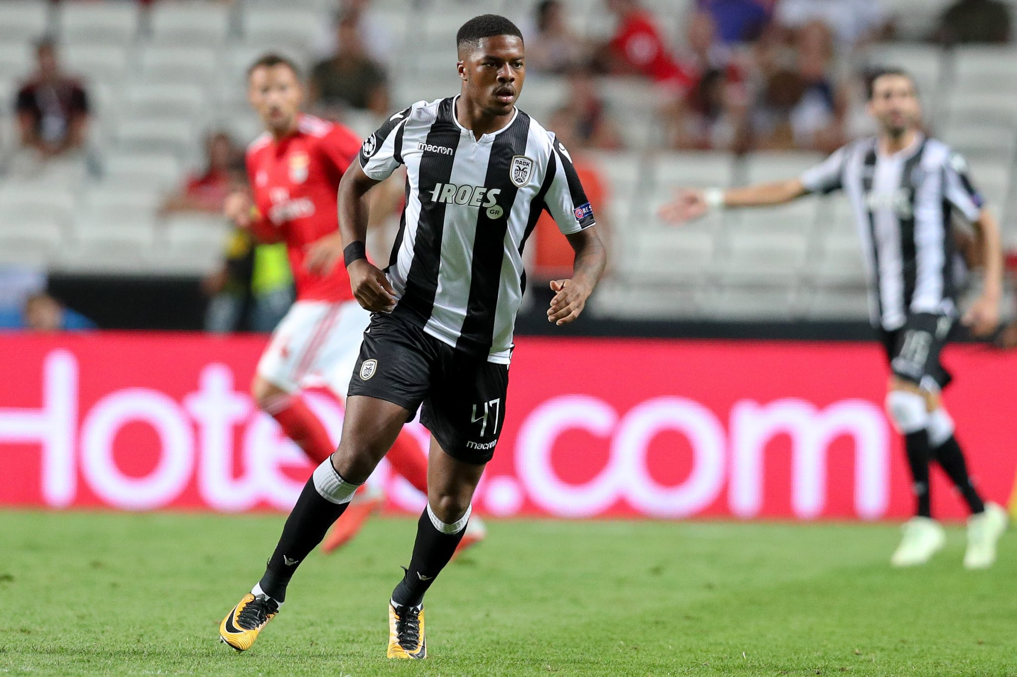 Akpom Dreams Greek League Title With PAOK Salonika