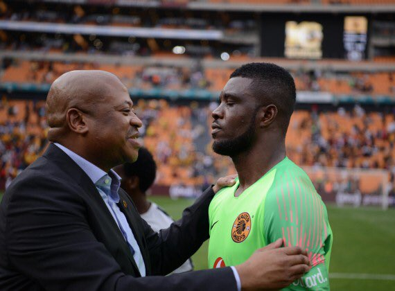 Kaizer Chiefs Coach, Middendorp: Akpeyi Still Our No. 1