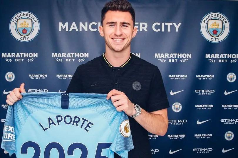 Laporte Extends Man City Deal