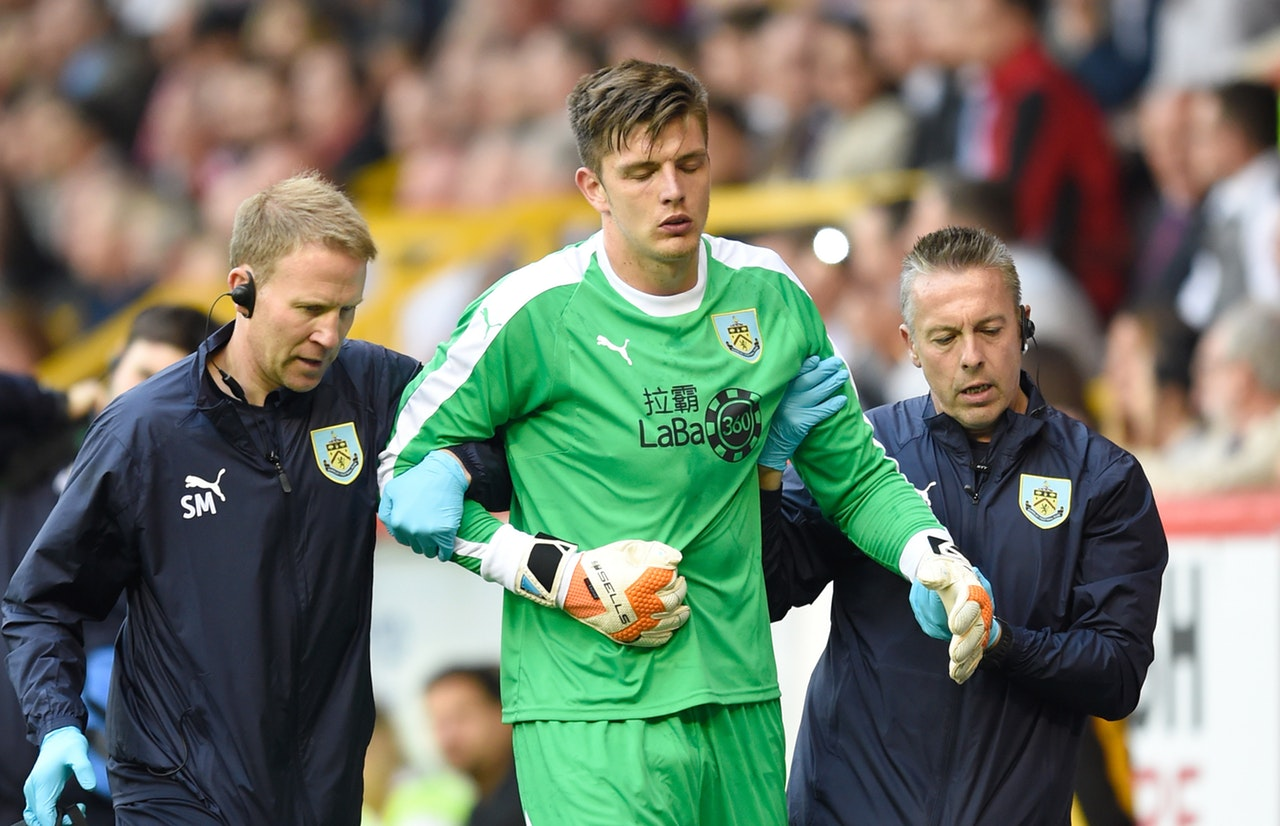 Clarets Keeper linked with Gunners switch