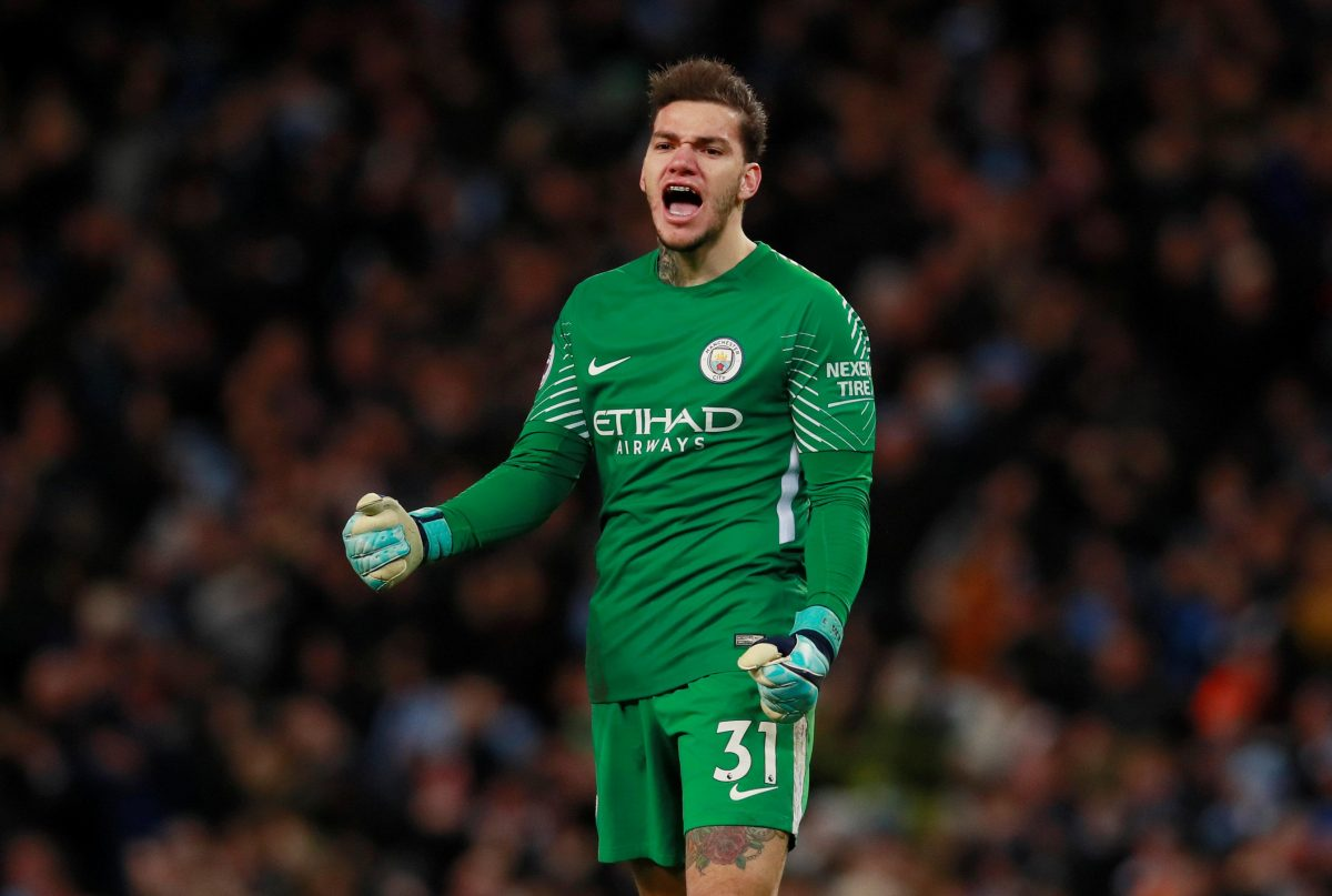 Ederson Tipped For Cup Outing