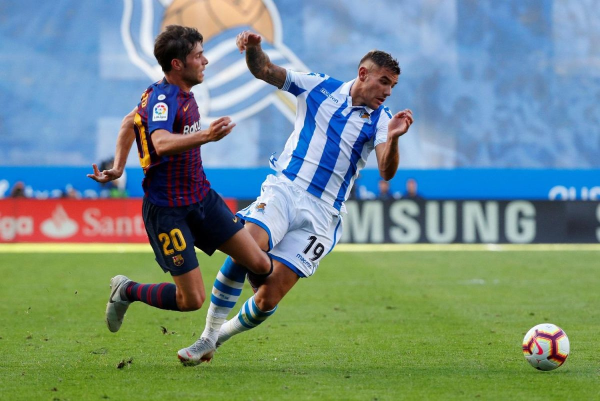 Hernandez Sets European Goal