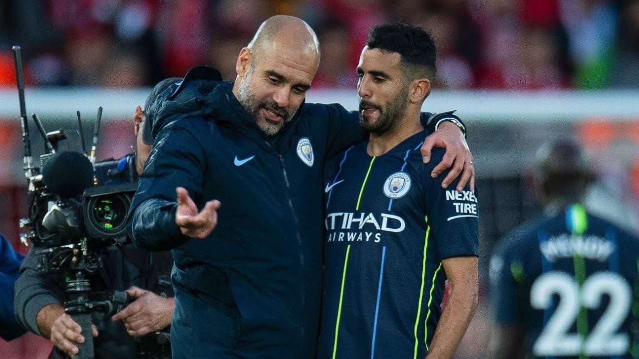 Guardiola Apologises To Mahrez For Lack Of Game Time