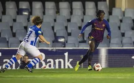 Oshoala Hit Brace in Barca's First League Loss