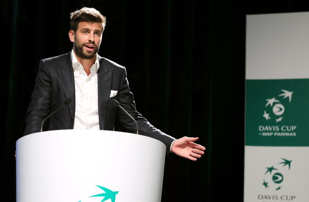 Pique Stands By Davis Cup Changes