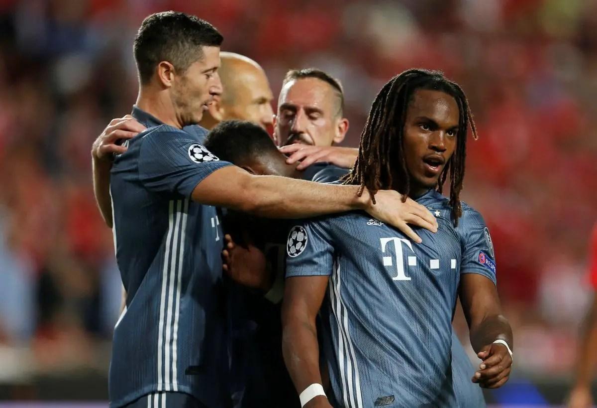 Sanches Not Happy At Bayern