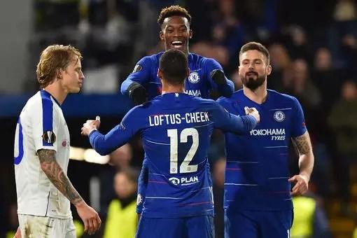 UEL: Chelsea, Napoli, Valencia Record First Leg Win