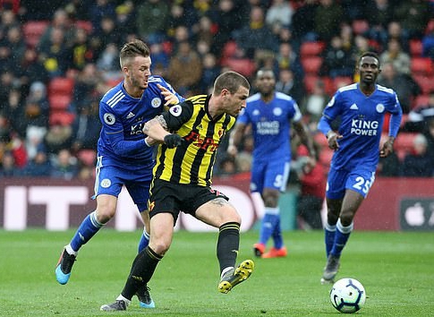 Ndidi Plays Full-Time, Iheanacho Subbed On In Leicester Defeat At Watford