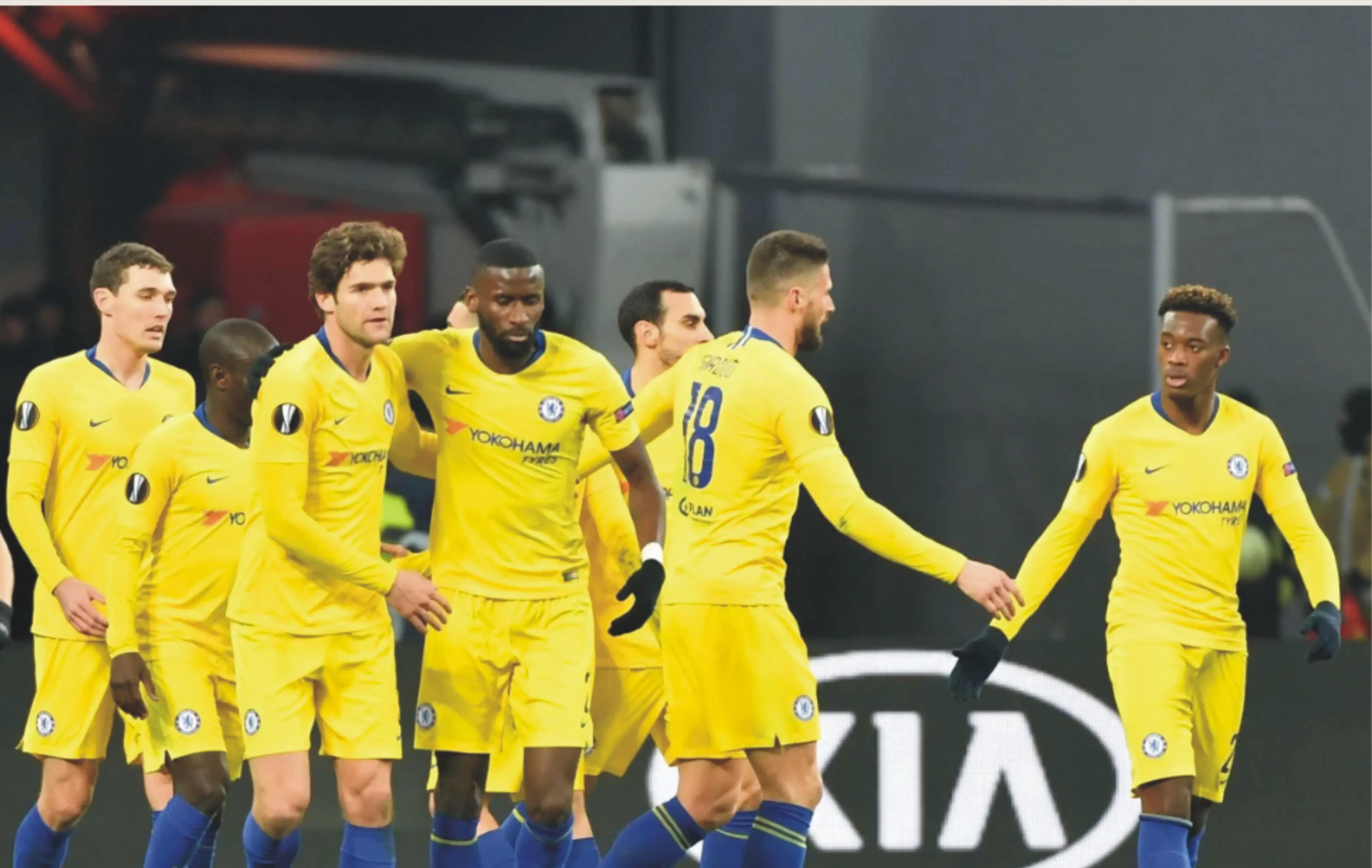 UEL: Sarri Hopes Chelsea Avoid Napoli In Quarter-Finals