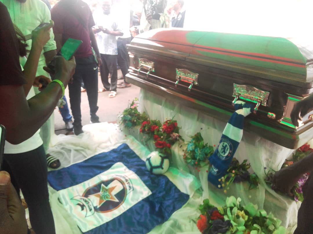 Tears, Tributes Pour Out At Ogunjobi's Lying-In-State