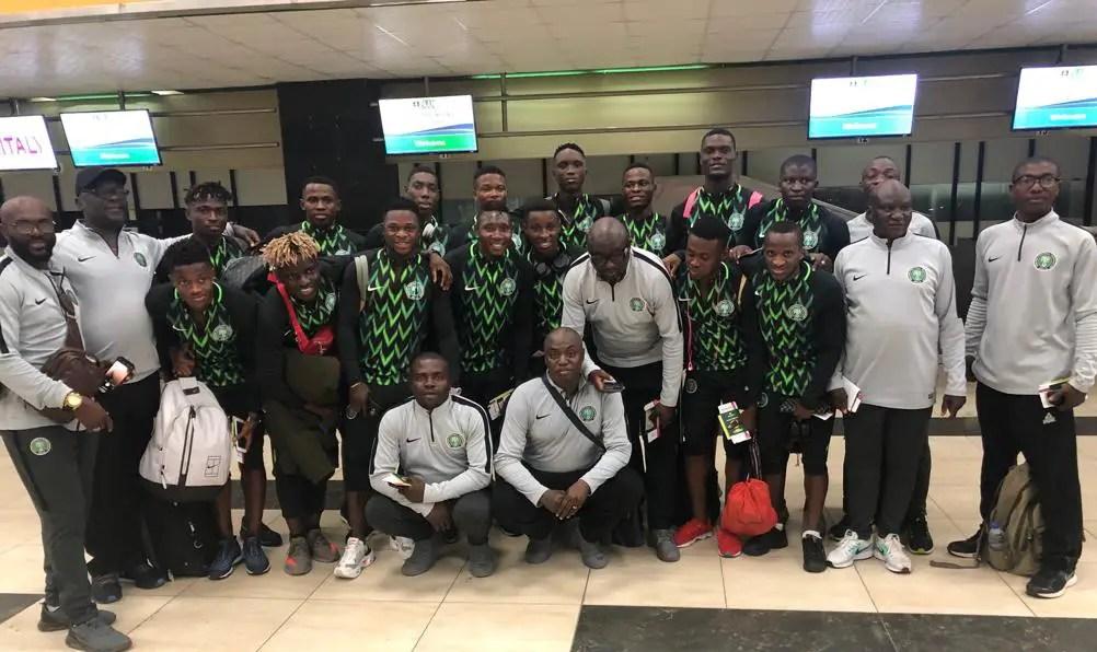 U-23 Eagles Off To Tunisia For AFCON Qualifier Vs Libya