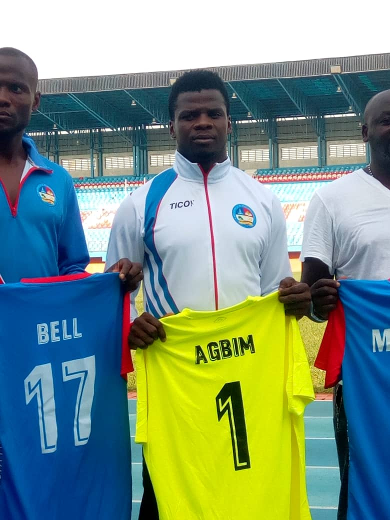 Ex-Eagles Goalie Agbim, Ede, Others Unveiled By New NPFL Club Delta Force