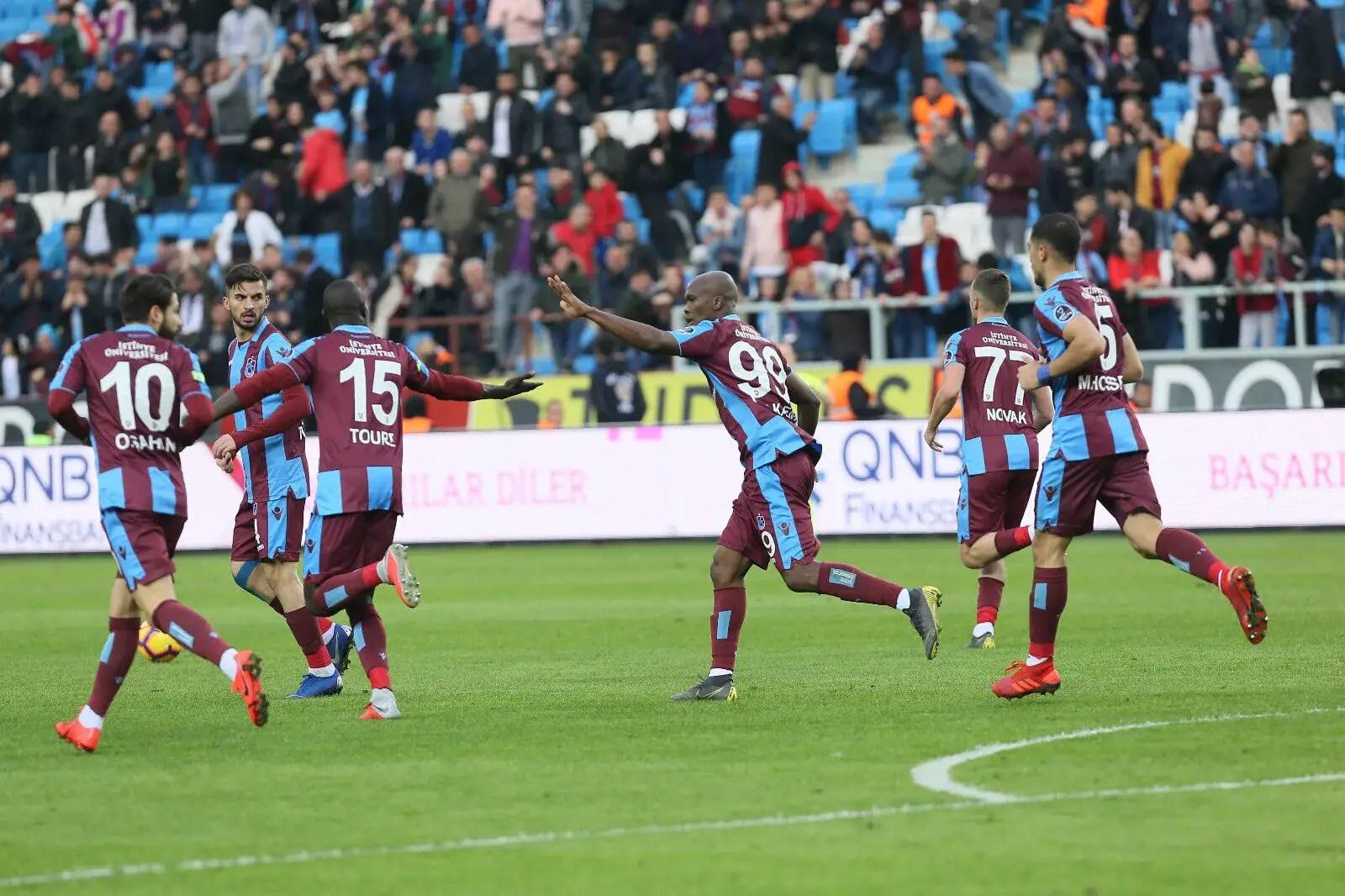 Turkish Super Lig: Nwakaeme On Target In Trabzonspor Win Over Akhisarspor