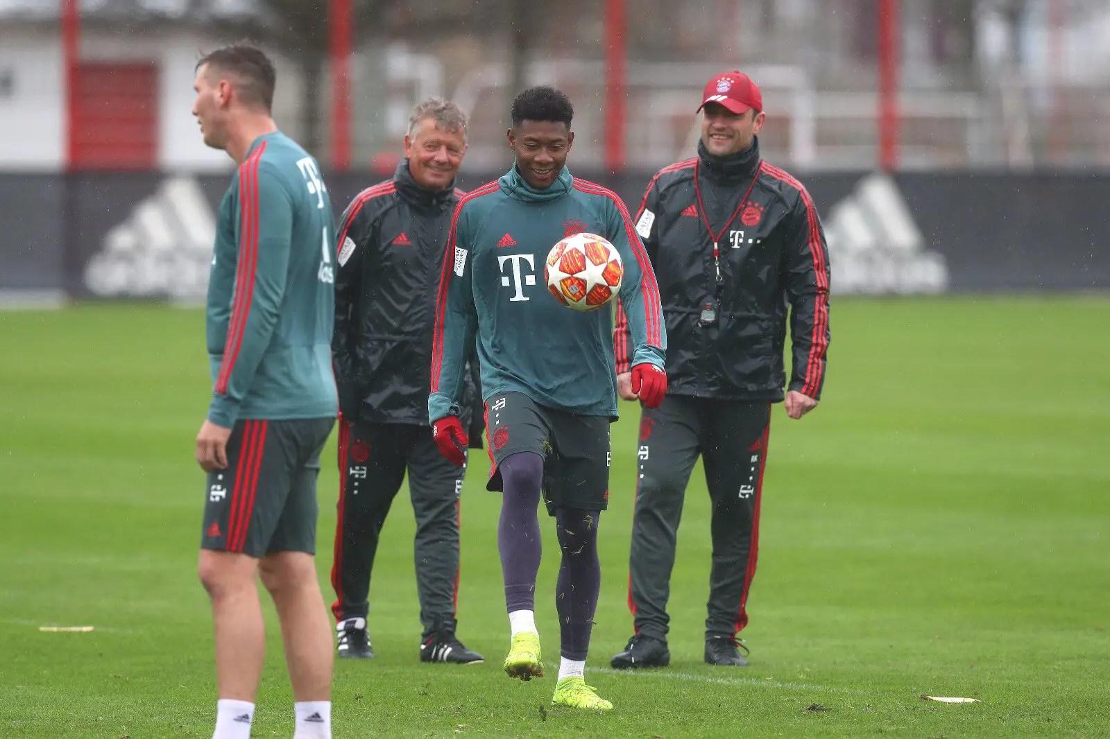 Bayern Get Alaba, Coman Boost For Liverpool Clash